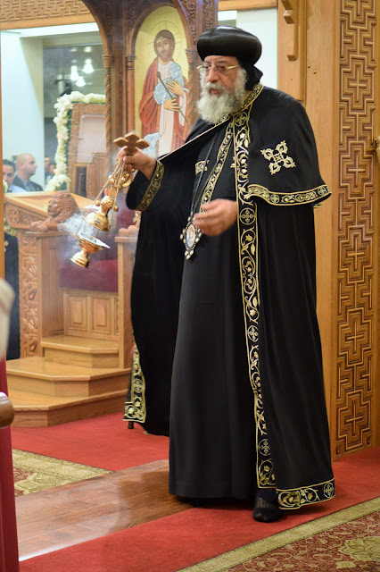 His Holiness Pope Tawadros II visit to St. Mark LA - DSC_0228.JPG