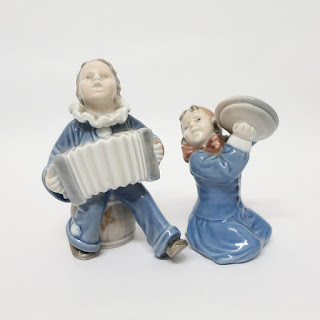 Royal Copenhagen Figurine Pair