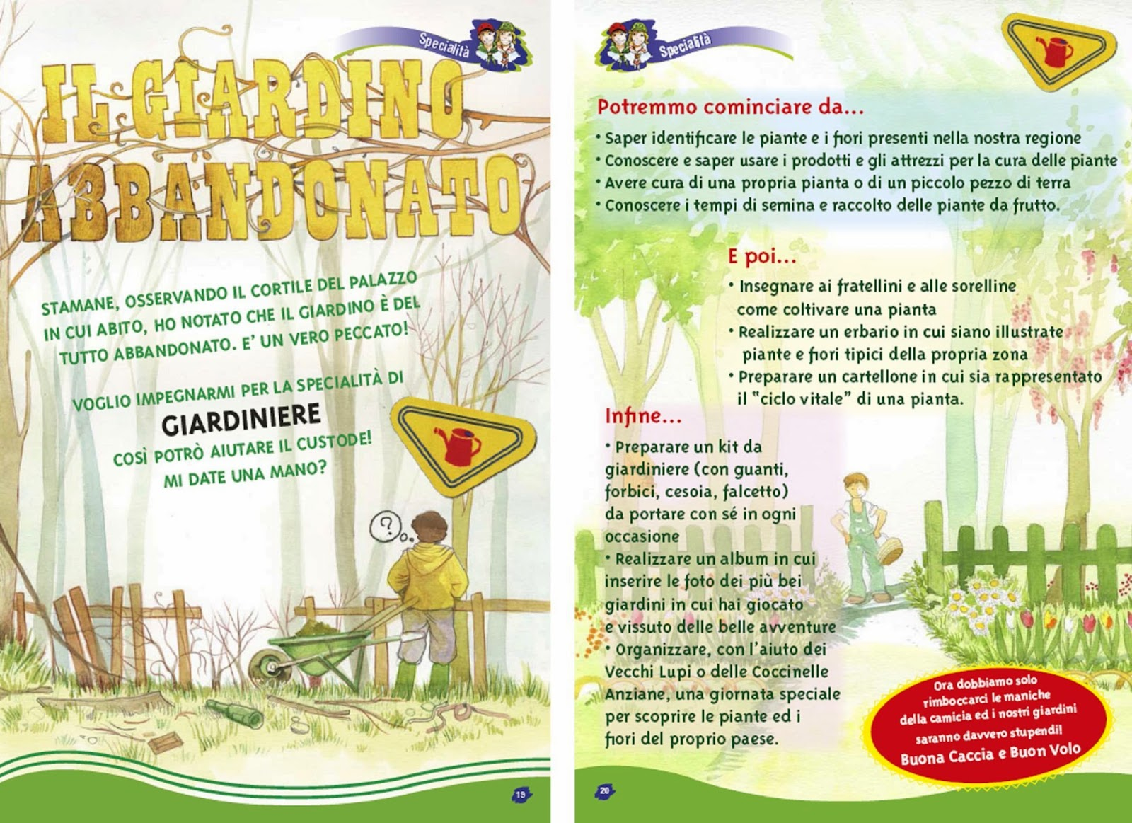 Terra Buona Per Giardino giardiniere