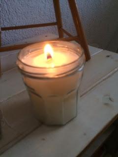 houtenlont kaarsen zelf maken