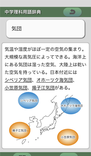 中学理科用語辞典