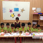 Star day Celebrated by Nursery Morning Section at Witty World, Chikoowadi (2017-18)