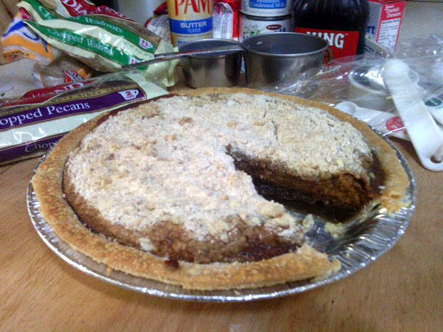 Home Made Shoo Fly Pie