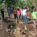 Nursal : Pembangunan Bak Air di TPU Dao'e Murni Swadaya Masyarakat