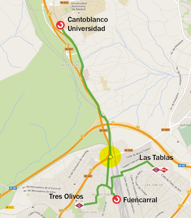 Leganés - Villaverde. Intermodalidad