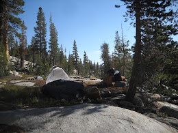 My 2nd campsite.... I'll play you a song about the first campsite if you ask nicely.