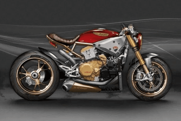 ★AD Koncept Ducatiパニガーレ カフェレーサーコンセプト