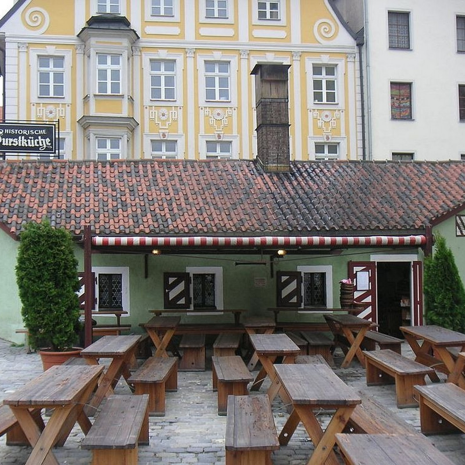 The 870-Year Old Historic Sausage Kitchen of Regensburg