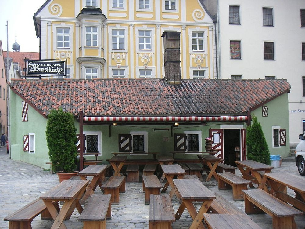 870-Year Old Historic Sausage Kitchen of Regensburg