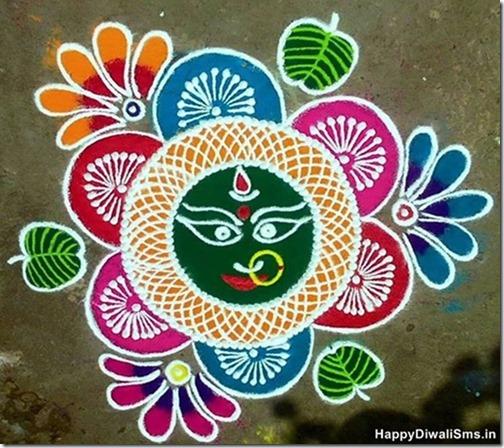 Rangoli para Diwali   (2)