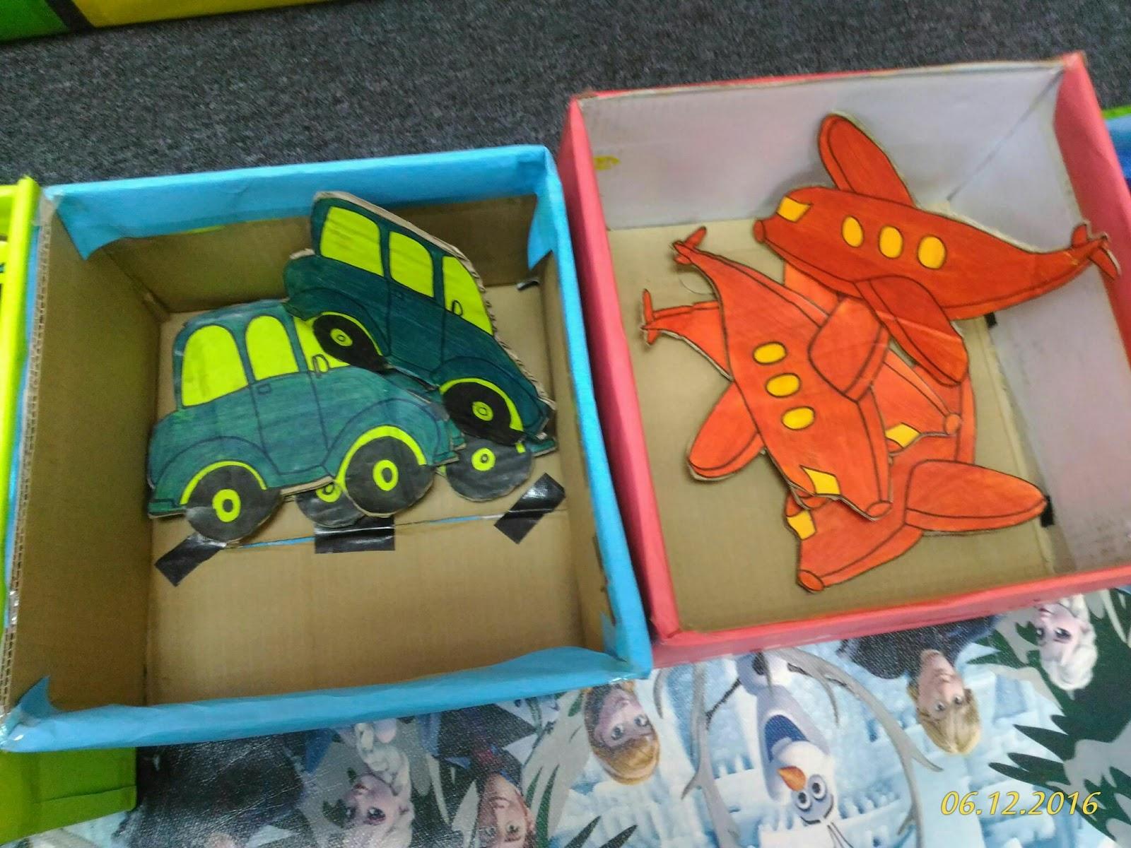 Buat Mainan Begini Menggunakan Kotak Tak Perlu Dibeli