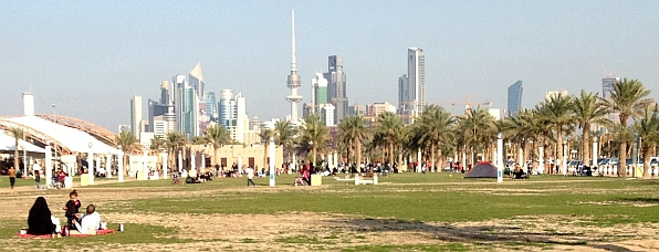Picnic in Kuwait City am Freitag