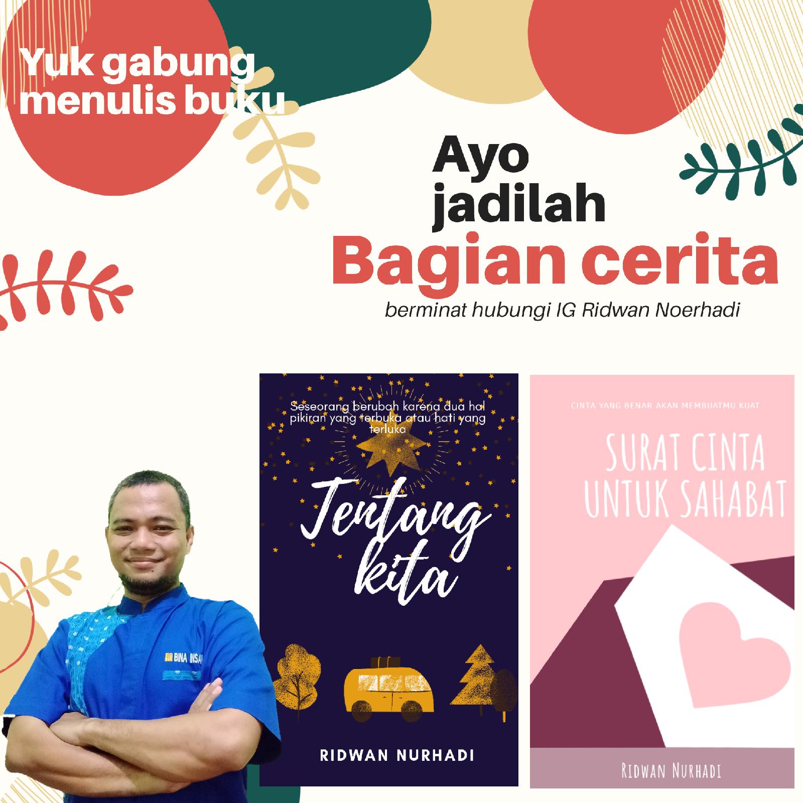Yuk menulis buku bersama