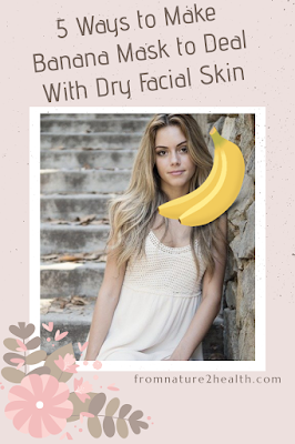 Banana Mask for Beauty Glowing Skin