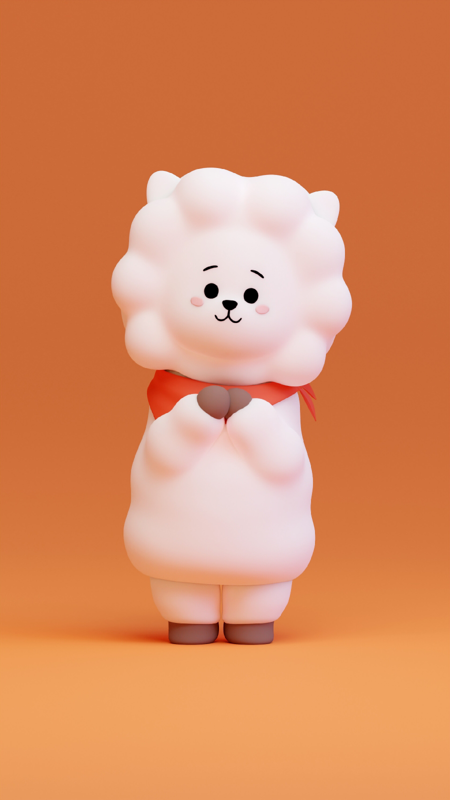 Download Wallpaper RJ BT21 Wallpaper Character