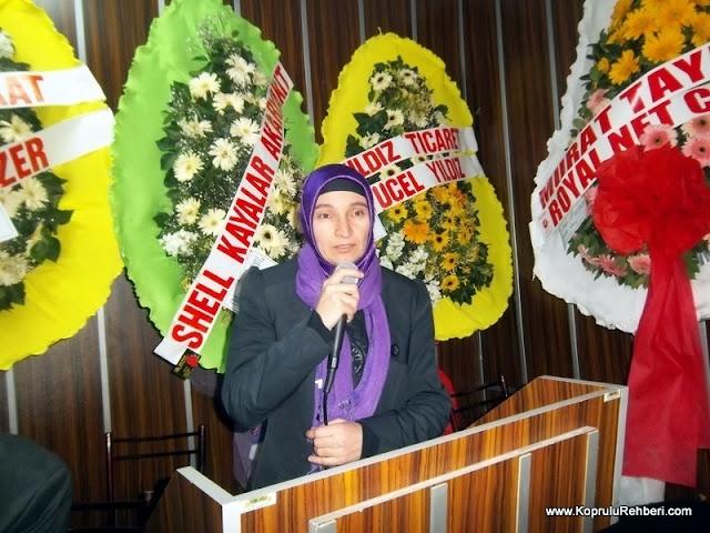 Terk kadın katılımcı Rukiye KARADOĞAN