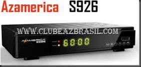 ATUALIZAÇÃO AZ AMÉRICA S926
