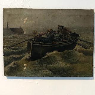 Fisherman at Sea Oil