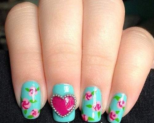 15 Adorable Floral Nail Tutorials for Spring Summer