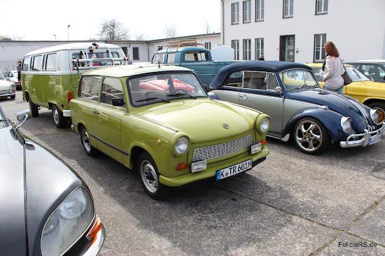 Zur Classic Car nach Köln durfte Günter