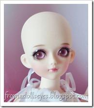 Sakura without hair