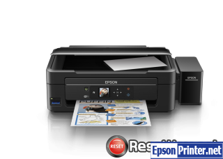 Reset Epson L485 ink pads are at the end of their service life