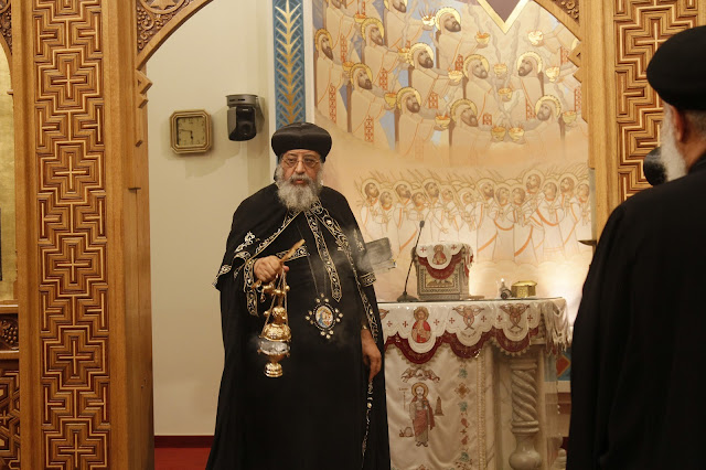 His Holiness Pope Tawadros II visit to St. Mark LA - _MG_0554.JPG