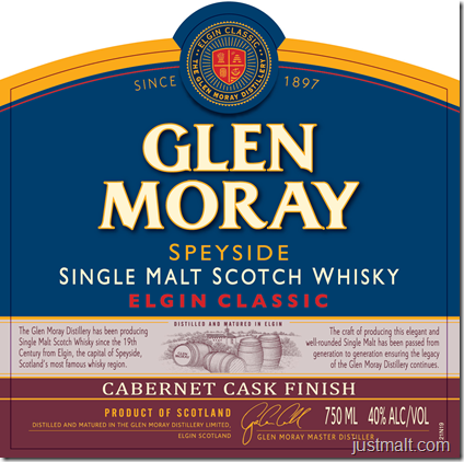 Glen Moray Speyside Single Malt Elgin Classic