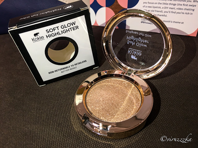 KOKIE COSMETICS Soft Glow Highlighter in Heavenly Reviews Swatches