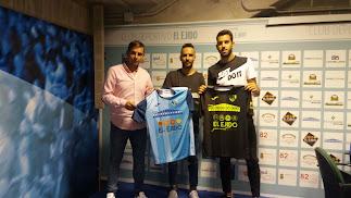 Miguel, Aarón y Manu.