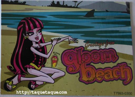 mi Draculaura Gloom Beach