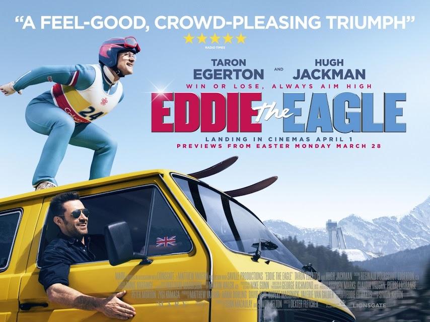 Cartel película Eddie el Águila 2016