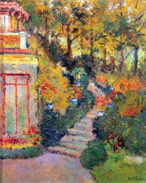 Robert Antoine Pinchon - L'escalier à Lescure
