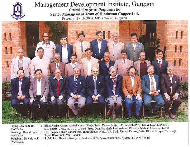Executive development programme