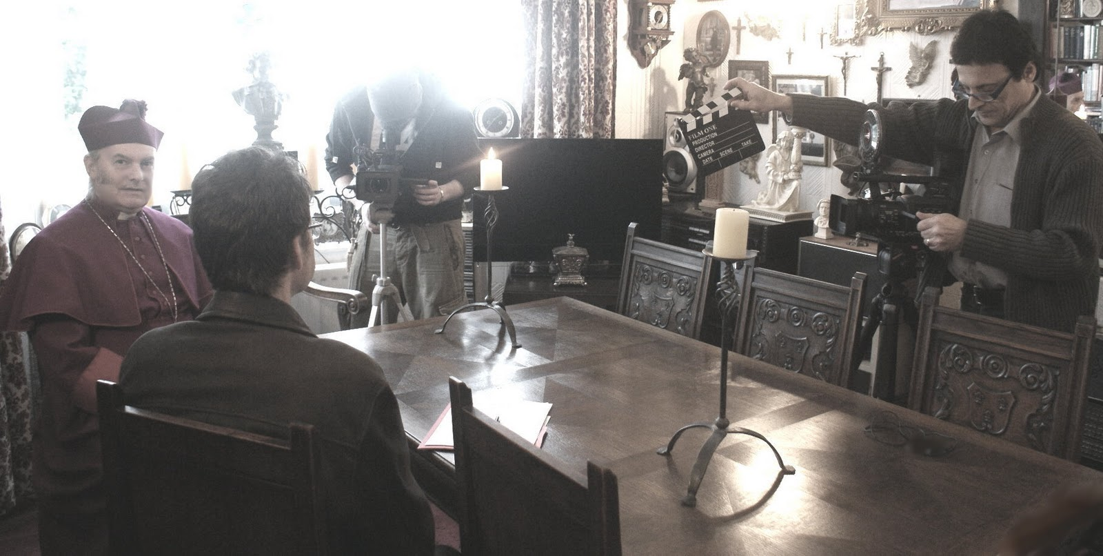Vampire Hunters Being Interviewed