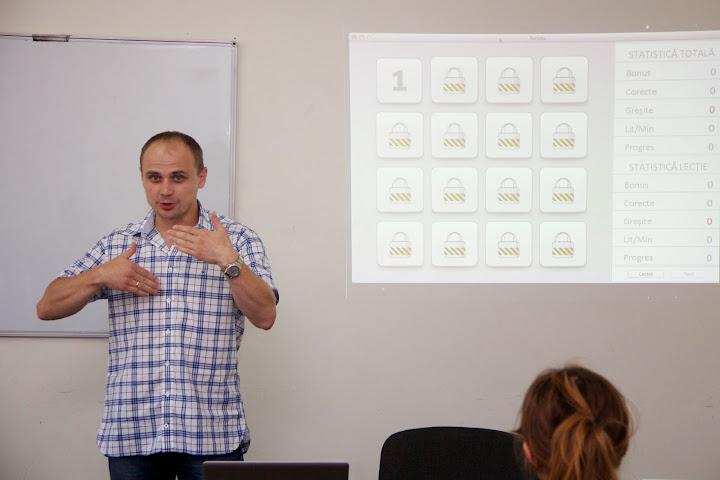 Lansarea programului de tastare rapidă - SCRIPTA