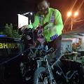 Pemotor Asal Mojokerto Masuk Rumah Sakit, Usai Bertabrakan Dengan Pikap di Sumobito