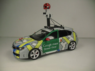 How to drive the google maps car Driving Google Maps Car on