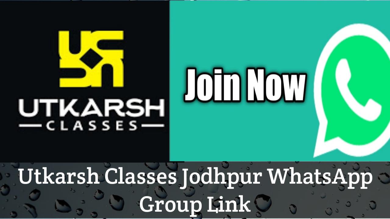 Utkarsh Classes Whatsapp Group Link
