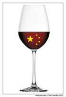 china-flag-wine-glass
