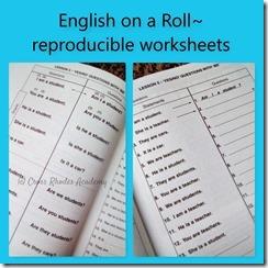 Reproducible Worksheets