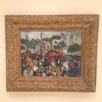 "The Fourteenth of July ""Le quatorze juillet"" by Pablo Picasso at the Guggenheim"
