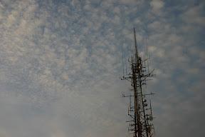 Radio tower on Castel Sant'Elmo