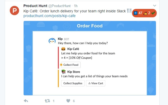 Product Hunt Twitter