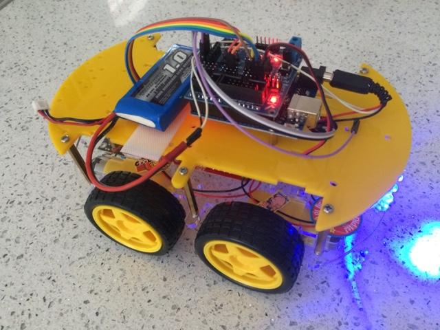 SubSonicHobby - RC Plane Drone UAV Car Boat: Arduino Robot Car Kit