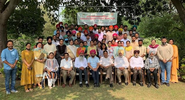 अतिरिक्त मुख्य सचिव (विकास) ने नये अधिकारियों को किसानों की भलाई के लिए काम करने को कहा