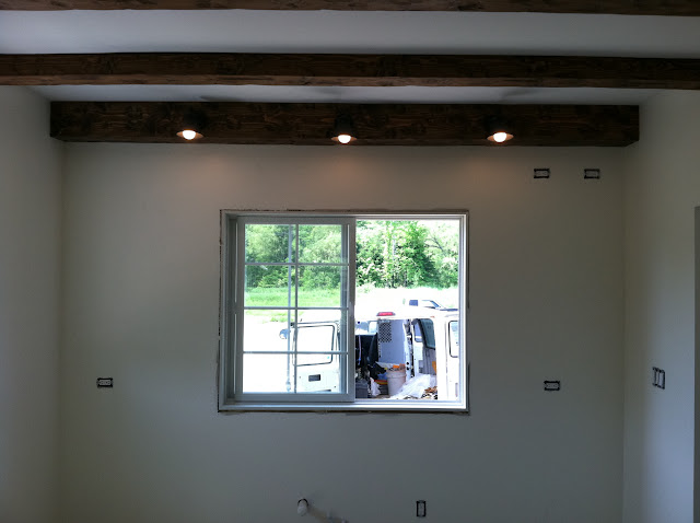 Kitchen Update Lighting In Mostly And Beams Review