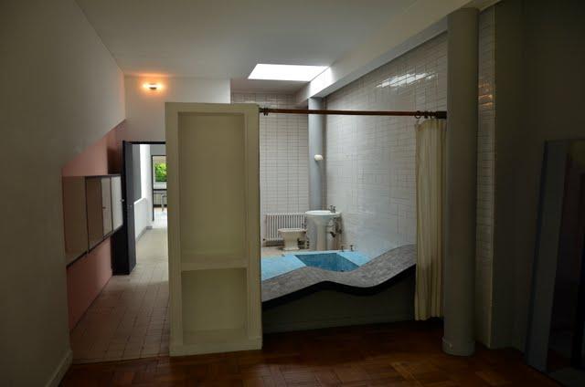 Interni Di Villa Savoye : Ville savoye le corbusier e pierre jeanneret