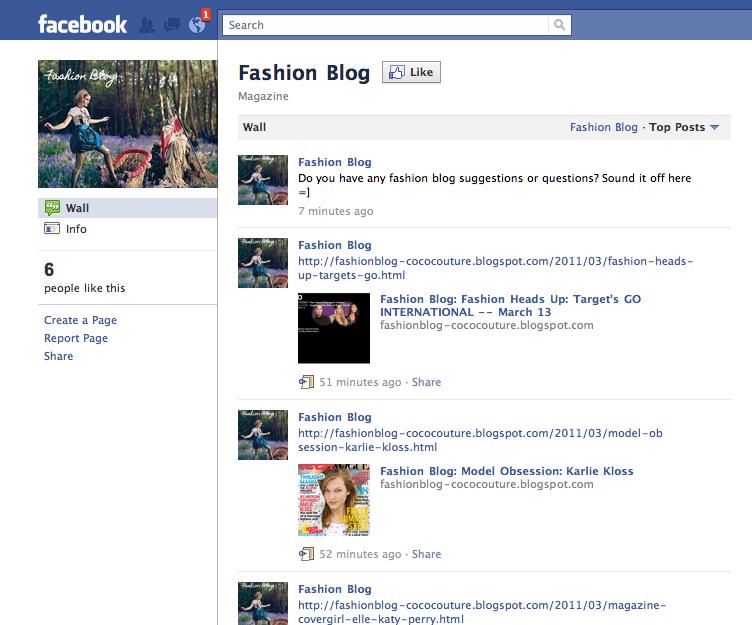 Fashion Blog Like Our Fashion Blog Facebook Page