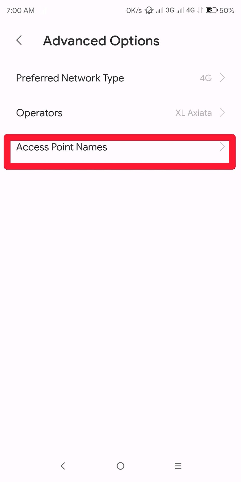 Cara Meningkatkan Kecepatan Internet di Android dengan Settingan APN